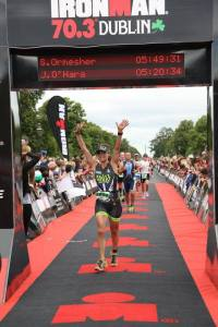 ironman dublin finish